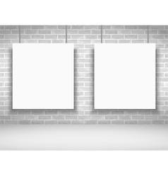 White Frames vector image