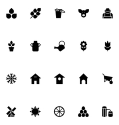 Agriculture Icons 1 vector image