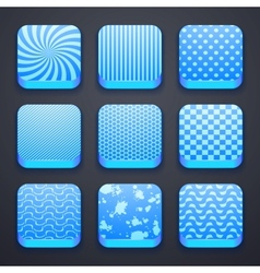 background for app icons vector image