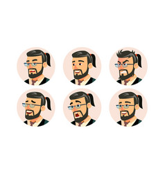 Boss ceo character business people avatar vector
