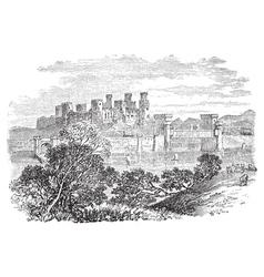Conway castle vector