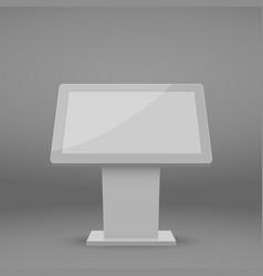 digital multimedia stand vector image