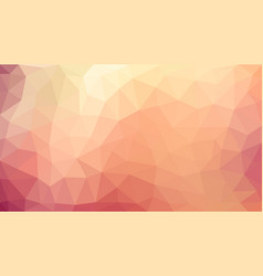 light coloured low poly background abstract vector image