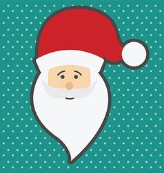 Santa Claus Happy New Year vector image