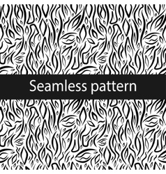 Seamless texture with abstract elements vector image