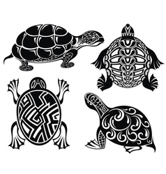 Turtles vector