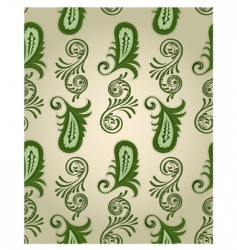 Vector seamless paisley pattern vector
