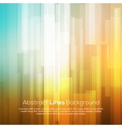 Colorful abstract lines business background vector image