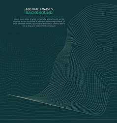 abstract waves transparent wave vector image