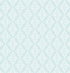 Seamless Pattern with damask elements vector image
