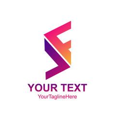 abstract logo design template element creative vector image