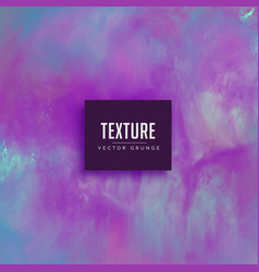 abstract purple watercolor texture paint vector image