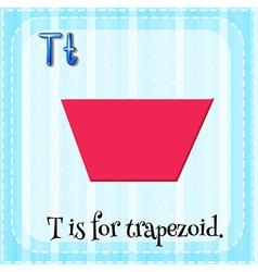 Alphabet T vector