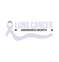 Awareness month ribbon vector