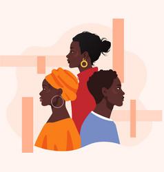 black lives matter concept vector image