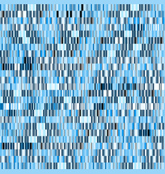 Blue mosaic background different random shapes vector