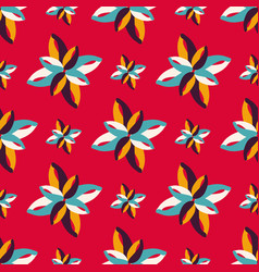 bright colored abstract seamless pattern quality vector image
