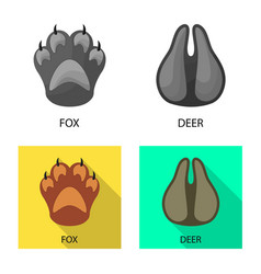 Design step and walk icon set step vector