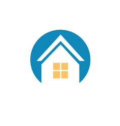 home house logo icon vector image