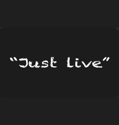 Just live vector