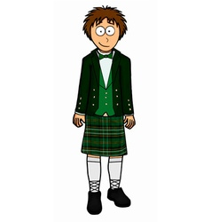 Mens north ireland clothing vector image