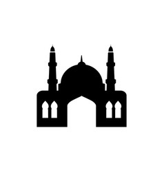 mosque graphic design template isolated vector image