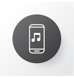 Music application icon symbol premium quality vector