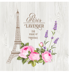 Paris memory card vector