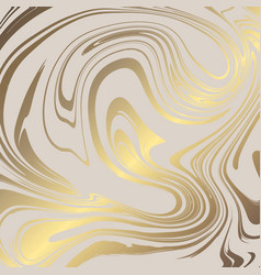 Texture of marble with imitation of gold gold vector