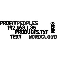 Ways to profit from other peoples products text vector