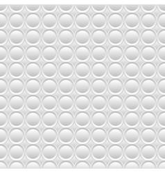 White seamless volume texture vector image