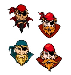 Old danger pirates vector image vector image