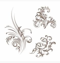 pattern elements vector image