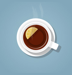A cup tea vector