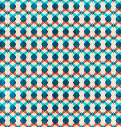 abstract blue seamless pattern vector image