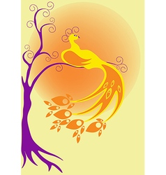 Bird Fairy vector image