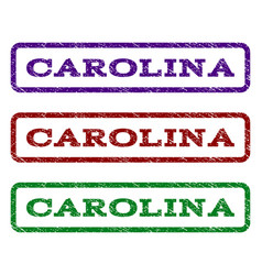 Carolina watermark stamp vector