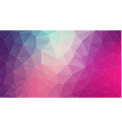 Flat 2d bright violet abstract triangle shape vector