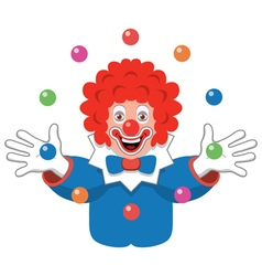 Juggling clown vector