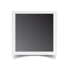 photo frame isolated on white background for your vector image