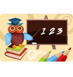 school card vector image