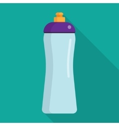 Sports bottle hydro flask water vector image
