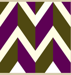 pattern with white brown purple lines vector image vector image