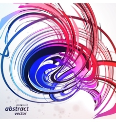 Colorful abstract background futuristic vector image vector image