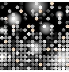 glowing dots vector image vector image
