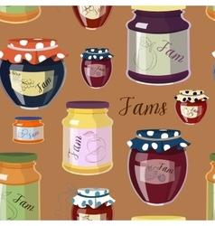 Jam set pattern vector image