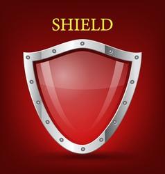 shield symbol icon vector image