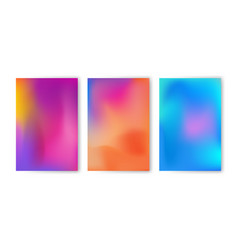 Abstract colorful gradient mesh background vector