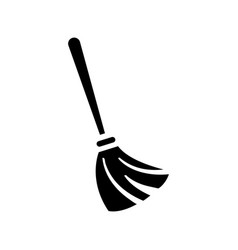 Broom sweeper graphic design template isolated vector