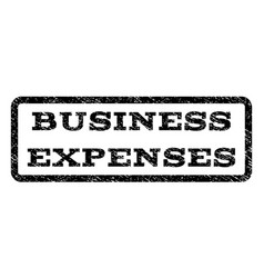 Business expenses watermark stamp vector